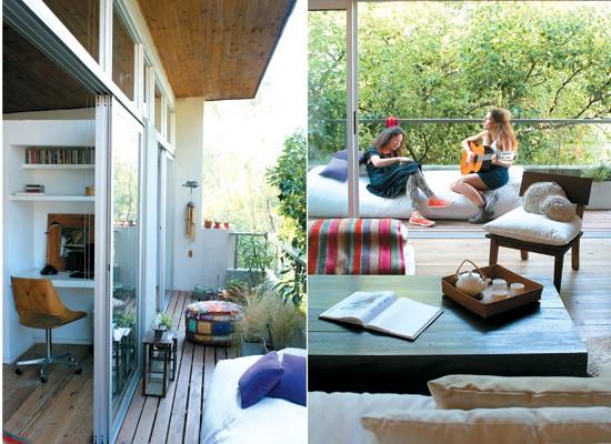 Decocasa en colombia terrazas y balcones claves para for Sillones para balcon