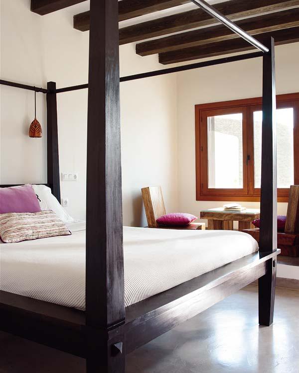 Decocasa en colombia camas con dosel dise o renovado - Cama dosel madera ...
