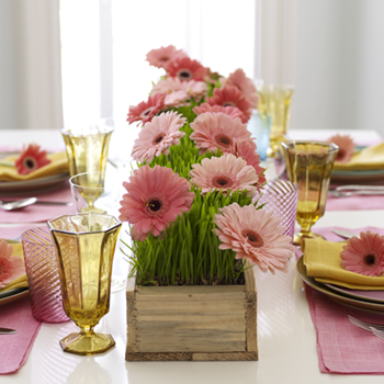 Centro de mesa on pinterest mesas bodas and gerbera - Centros de mesas ...