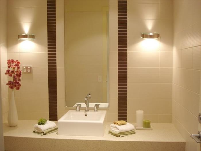 Iluminacion En Baño Pequeno:Bathroom Lighting Fixtures Ideas