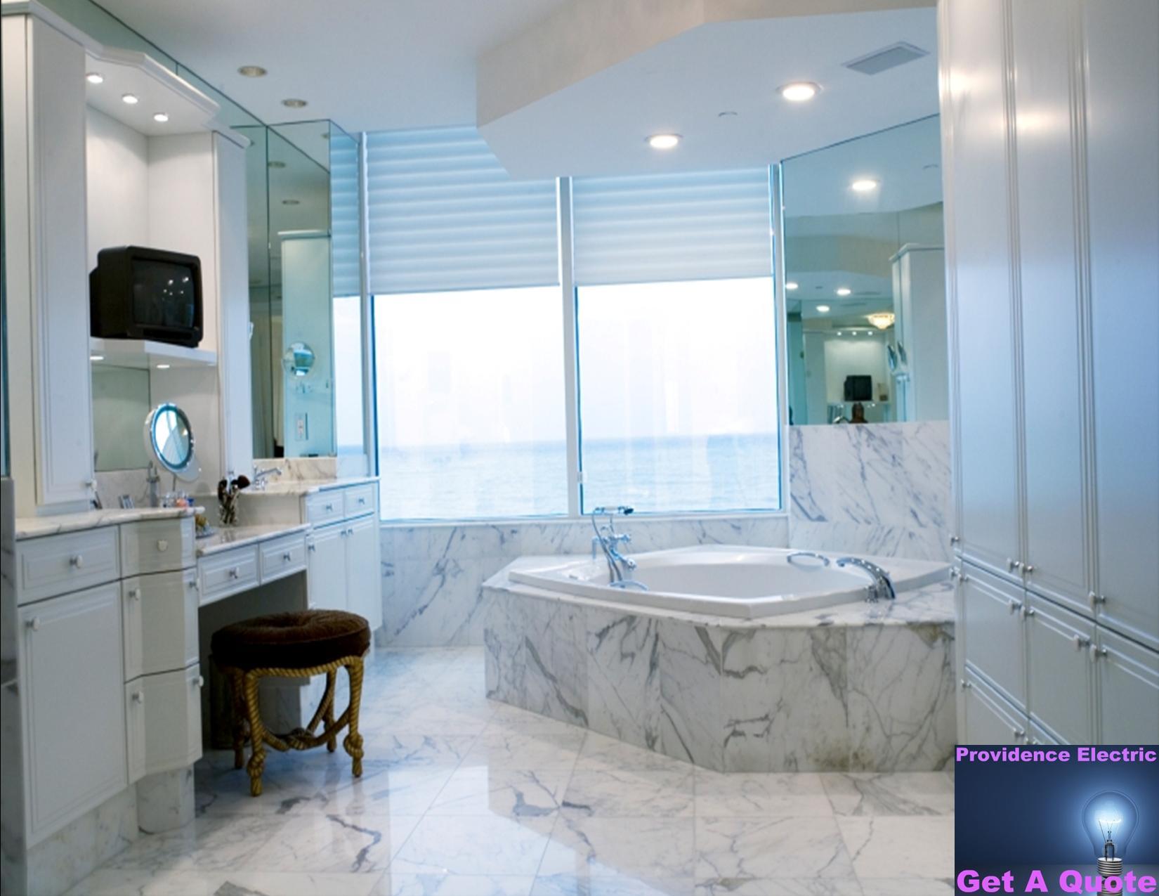 baños elegantes con tina ~ dikidu