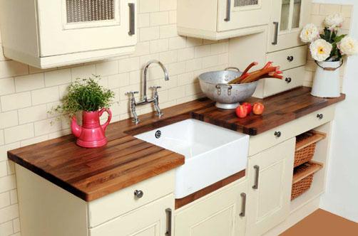 Decocasa en colombia mesadas cocina materiales 1 parte for Mesada de madera para cocina