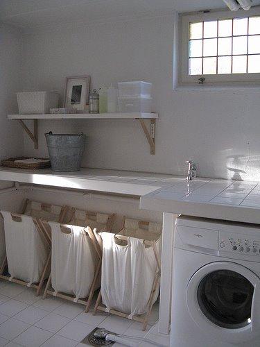 Decoraci n casa organizada lavaderos o zona de ropas for Ideas de lavaderos
