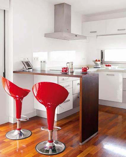 Decocasa en colombia cocinas con barras - Como hacer una barra de cocina ...