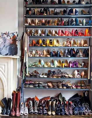 Decocasa en colombia ideas para ordenar los zapatos for Cuarto de zapatos