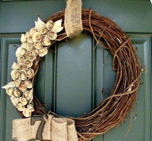 Decocasa en colombia puertas adornos de navidad en - Coronas navidenas para puertas ...