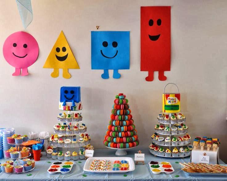 fiestas infantiles inspiradas en el arte