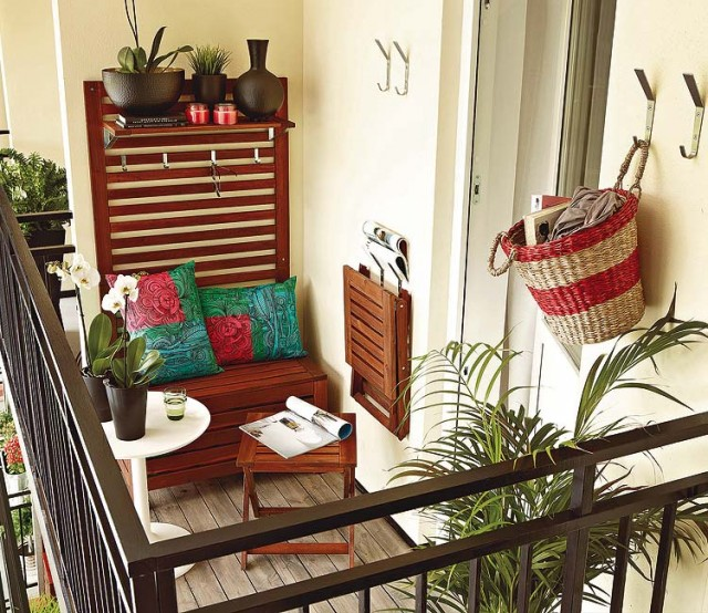 Decocasa en colombia ideas para balcones peque os for Ideas para decorar terrazas y balcones