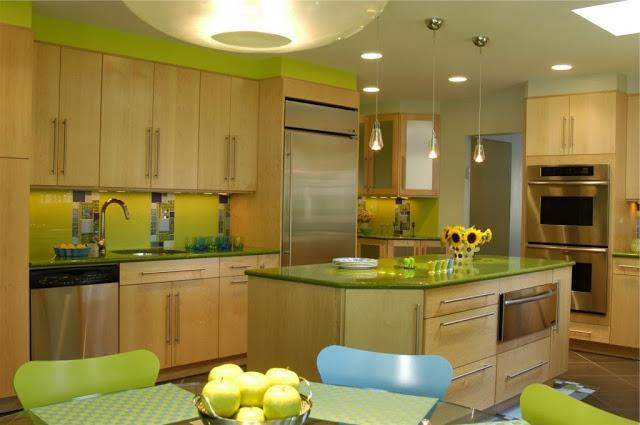 Decocasa en colombia verde en la cocina urbana for Muestrario cocinas