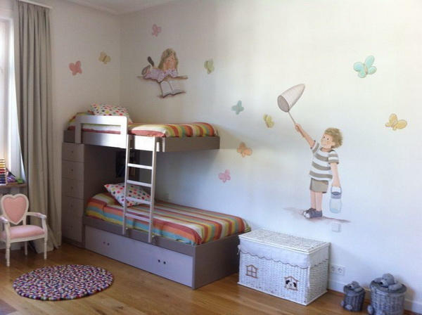 Imagenes dormitorios infantiles great decoracin de for Habitaciones compactas